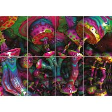 Psychedelic Trippy Art Giant Art Print Home Decor New Poster Picture