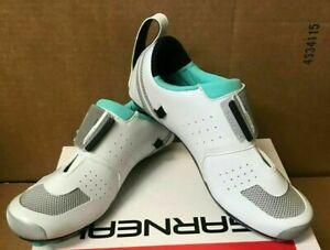 Garneau Ergo Air White Mint Cycling Shoes Womens Size 10.5 NWOB Euro Size  43 C4