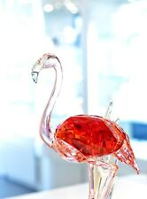 Swarovski Crystal Flamingo Red Exotic Bird Large 5302529 Brand New In Box