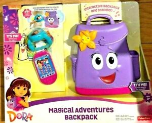 """Fisher-Price Nickelodeon Dora & Friends, Magical Adventures Backpack  NEW """"READ"""""""