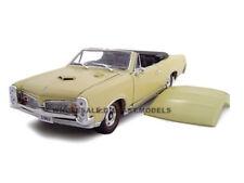 1967 PONTIAC GTO CONVT CREAM 1:24 DIECAST MODEL CAR BY UNIQUE REPLICAS 18667