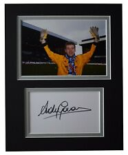 Andy Goram Signed Autograph 10x8 photo display Rangers Football AFTAL COA