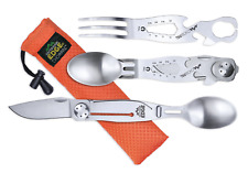 Outdoor Edge CHOWPAL - Mealtime Eating Utensil & Knife Razor Multitool - CPL-10C