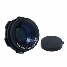 1.08x-1.6x Zoom Viewfinder Eyepiece Magnifier for Canon Nikon Pentax Sony O E7Q6