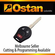 Complete Key & Remote to suits NISSAN XTRAIL & MICRA (Aftermarket)