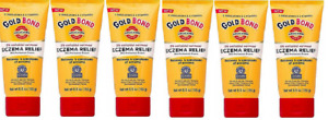 Gold Bond Ultimate Eczema Relief Cream 5.5z ( 6 Pack)