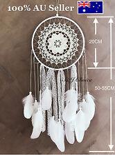 Large 55cm Dream Catcher Feather Lace Hanging Room Decoration Ornament