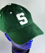 best service 955cb 62542 Michigan State Spartans MSU Green One-Fit Youth Hat Cap- Top of the World