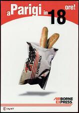 cartolina pubblicitaria PROMOCARD n.2368 AIR BONE CITY NET PARIGI EXPRESS
