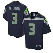 Russell Wilson embroidered #3 Nike Seattle Seahawks Jersey NWT SZ XL