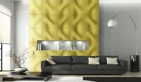 *MONO* 3D Decorative Wall Stone Panels.ABS Form Plastic mold for Plaster