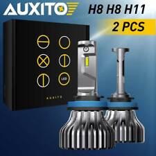 9000Lm H11 H8 H9 Led Headlight Fanless Bulb Cree 6000K Kit Lamp White Low Beam A