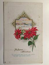 Vintage Postcard - #335 - Christmas Greetings