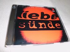 Liebe Sünde    Doppel  CD - OVP