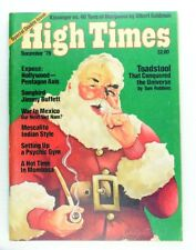 December 1976, High Times Magazine #16 Double Issue Santa Claus Cover