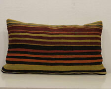 14''x24'' Bohemian Decor Pillow Cover Boho Decor Cushion Case Striped Pillow