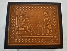 NEW HAND MADE PERSEPOLIS MOTIF LEATHER JEWELRY BOX