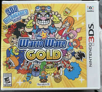 NINTENDO 3DS  WARIOWARE GOLD BRAND NEW VIDEO GAME FACTORY SEALED