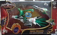 MOTO VOLANTE CON GREEN RANGER