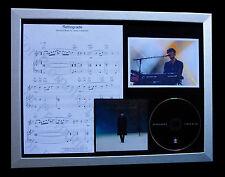 JAMES BLAKE Retrograde LTD QUALITY CD FRAMED DISPLAY+FAST GLOBAL SHIP+OVERGROWN