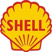 "SHELL GASOLINE vinyl cut sticker decal 6"" (full color)"