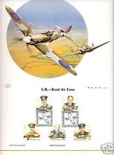 Great Britain - Royal Air Force Fighter Planes Pilots