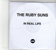 (DS121) The Ruby Suns, In Real Life - 2013 DJ CD