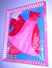 Vintage Barbie 1966 Fabulous Fashion Magnificence Red Satin Outfit 1676 NRFB