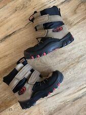 Elefanten Boys Brown Black Waterproof Winter Boots Size 25 (8- 8.5)