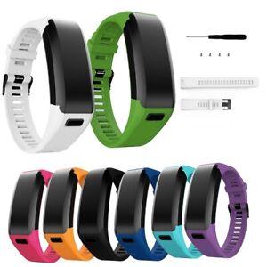 Für Garmin Vivosmart HR Fitness Ersatzarmband Sport Armband Silikon 8 Farben