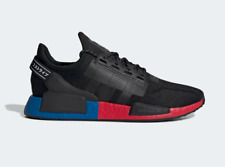 adidas NMD_R1 V2 Boost Mens Womens Black Red Blue Shoes Sneakers FV9023 - US 11