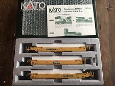 KATO RTR HO Gunderson MAXI-IV Double Stack Car TTX Road #732750 Item #30-9014