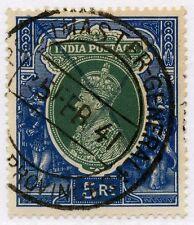 India 1941 jefe de correos general Provincias Unidas cancelar en KG6th 5R L2...