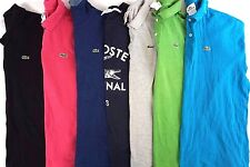 Lacoste Men's Lot of 7 Short Sleeve Polo Shirts/Tee Shirts/Sweater  XXL EUR 7