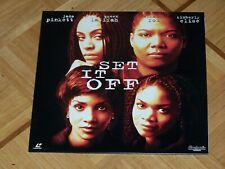 PAL Laserdisc: Set it Off   NEU & OVP