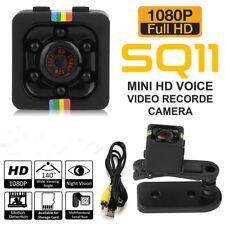 SQ11 Spy Cam 1080P Full HD Kamera Nachtsicht Überwachungskamera Bewegungsmelder
