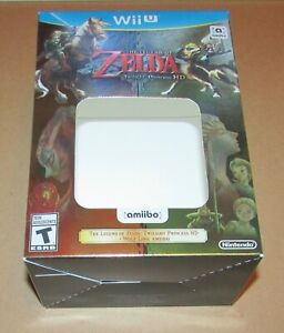 Legend Of Zelda Twilight Princess HD (Outer Box Only, No Game) Nintendo Wii U