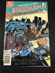Detective Comics 549 Batman Harvey Bullock Green Arrow Black Canary Backup 1985