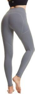 Women Anti-Cellulite Yoga Pants High Waist Push Up Leggings Sports Fitness Gym S