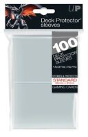 ULTRA PRO Deck Protector Sleeves Clear Standard Card 100ct 66 x 91mm