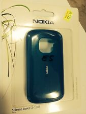 Nokia E5-00 Fitted Soft Silicone Cover in Aquamarine CC-1007. Brand New in pack.