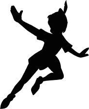 18 x forme fatte a mano che sembrano volare Peter Pan sagome Carte Craft