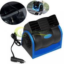 DC 24V Auto Car Vehicle Truck Cooling Air Fan Speed Adjustable Silent Cooler USA