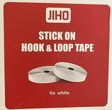 Hook And Loop Self Adhesive Tape Rolls...27 Ft X 1 Inch ....White