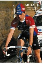 CYCLISME carte cycliste DANIEL CLAVERO équipe ARTIACH 1993