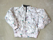 VINTAGE Nautica Competition Sailing Jacket Adult Large Reversible Mens 90s S