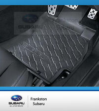 Subaru Forester Rubber Floor Mats Set Front & Rear My14 Genuine J5010SG300