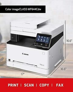 Canon Laser Colorimage CLASS MF644Cdw Wireless, Mobile Ready,Print/Scan/Copy/Fax