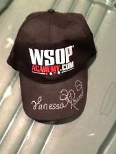 Big Brother Vanessa Rousso Autographed WSOP Academy Hat Poker