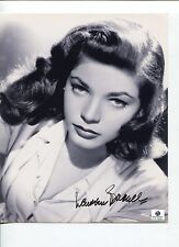 Lauren Bacall Big Sleep Key Largo Oscar Nominee Signed Autograph Photo Ga Coa